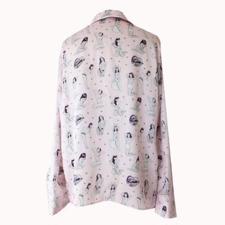 the Little Vicious xoxo Jean Andre,print pajamas-shirts