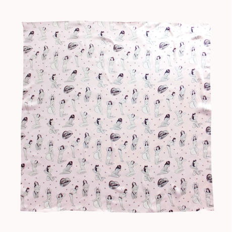 the Little Vicious xoxo Jean Andre,print-scarf