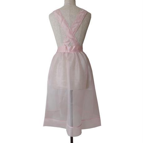 sheer skirts_Baby pink