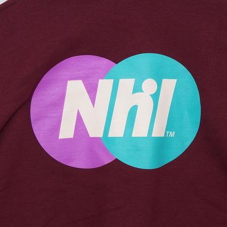 Nhl Sporting logo crewneck sweat / Wine