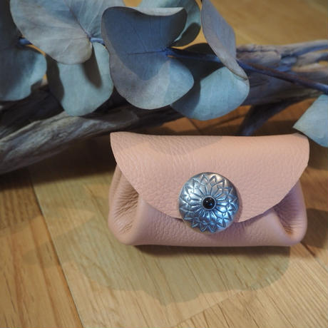 Coin purse/Vintage rose