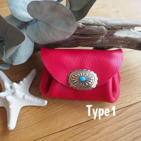 Coin purse/Hot pink