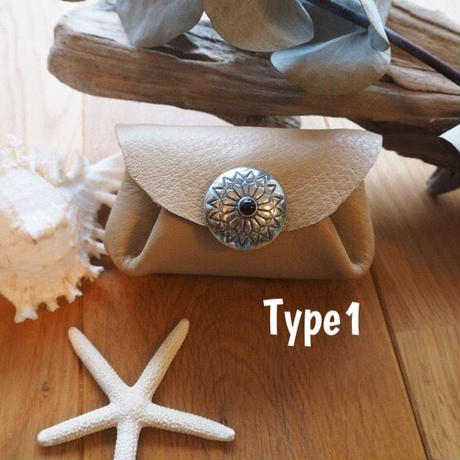 Coin purse/Cream