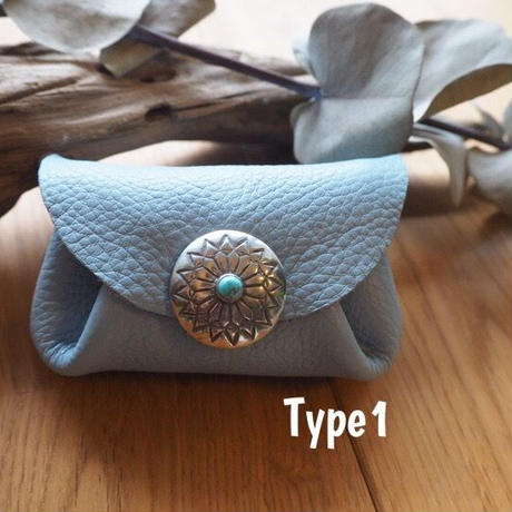 Coin purse/Baby blue