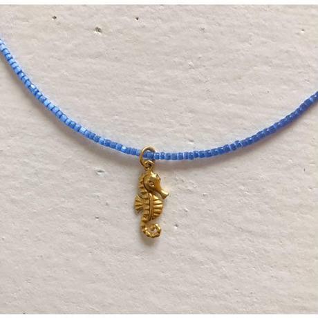 sea horse の ネックレス b
