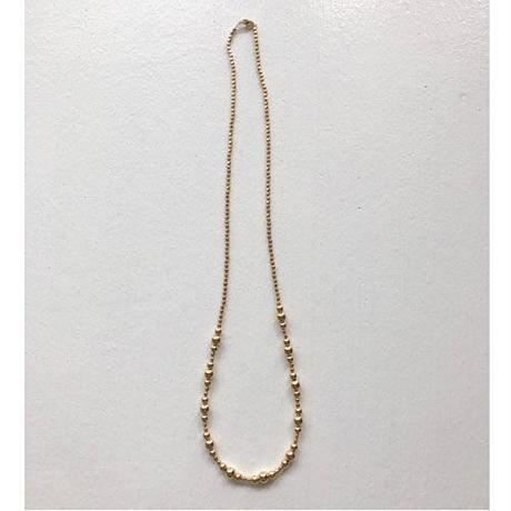 114gf beads ネックレス