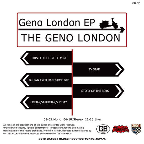 THE GENO LONDON/Geno London EP