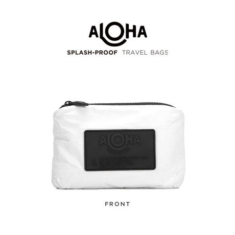 ALOHA Collection Pouch Mini - White アロハコレクション ポーチミニ-ホワイト