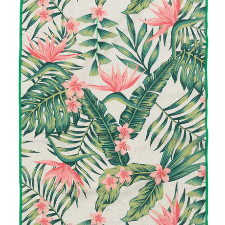 THE NOMADIX  /PALMS 12 PINK HAND TOWEL