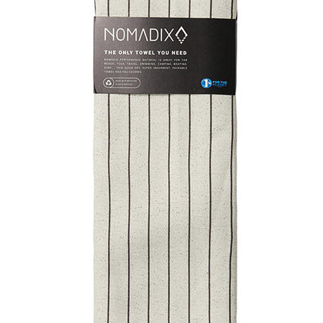 THE NOMADIX TOWEL /PINNER 01 IVORY TOWEL