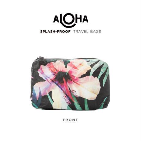 ALOHA Collection WLFP Pouch Mini - Hibiscus Palm アロハコレクション WLFPポーチミニ-ハイビスカスパーム