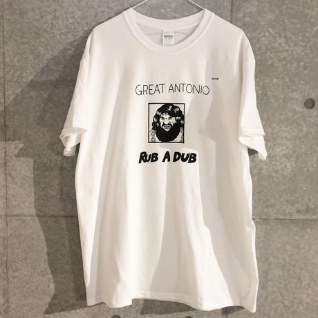 "[五木田智央]GREAT ANTONIO ""RUB A DUB"" Tシャツ"