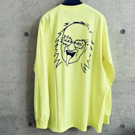 [五木田智央]TARZAN 長袖Tシャツ(ポケット付)