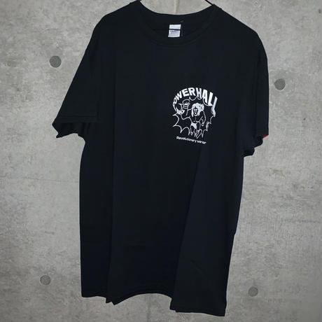 [DEPT]THE POWER HALL TEE BLACK[長州力]