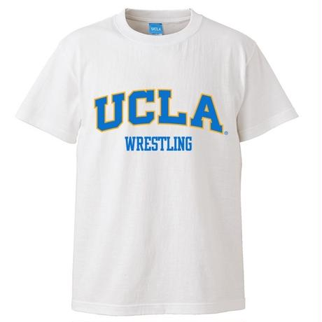 """[UCLA]""""UCLA WRESTLING"""" TEE WHITE"""