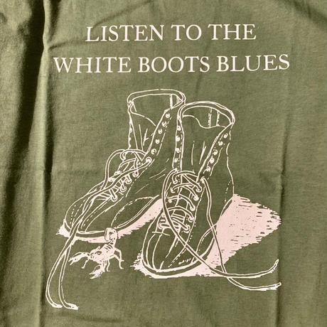 [DEPT]WHITE BOOTS PRINTED TEE[長州力]