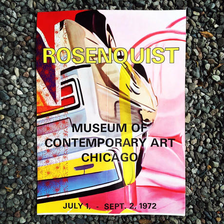James Rosenquist:Museum of Contemporary Art Chicago  1972