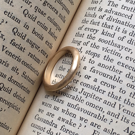Vintage type simple ring