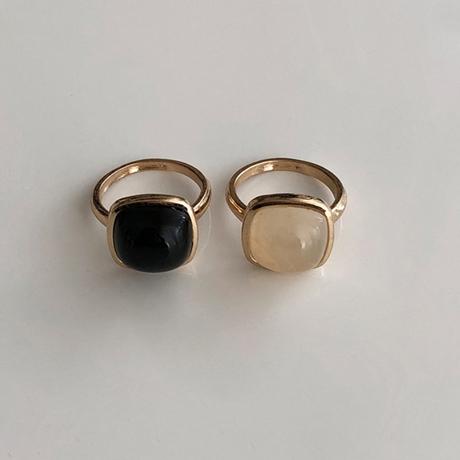 Vintage type  stone ring