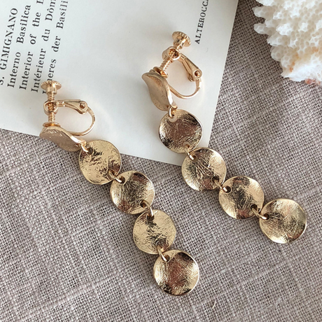 Vintage type  Rosary earring