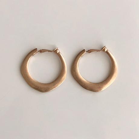 Vintage type hoop earring