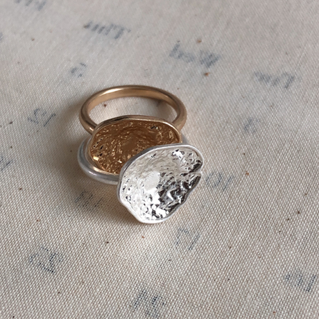 Vintage type  plate ring