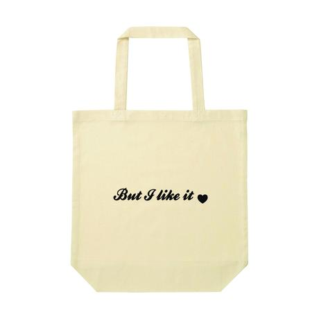 Song Tote-Bag「I hate the music (but like it)」トート