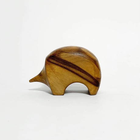 Carved wood Echidna