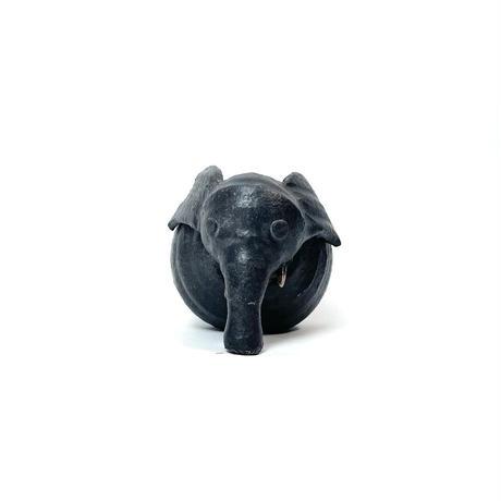 Ceramic elephant sculpture