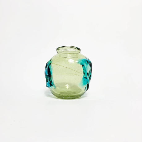 Glass art vase 1975's