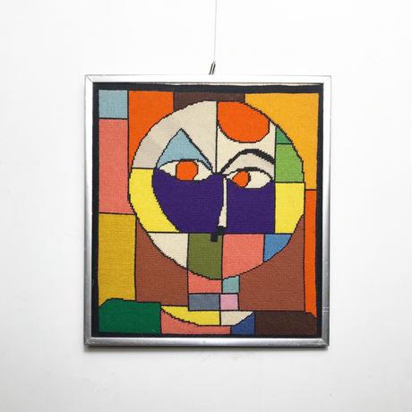 Paul Klee fabric wall art 70's - 80's