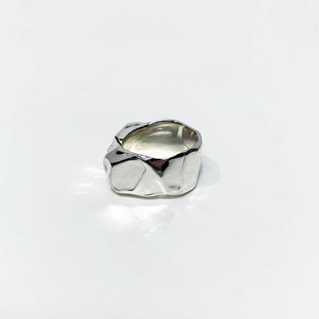 〈miku  fukamitsu〉かたまるリング (silver925)