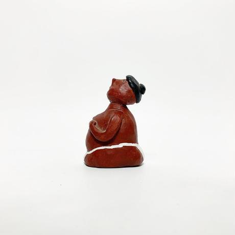 """Handmade ceramic """"SUMO"""" wrestler 2005's"""