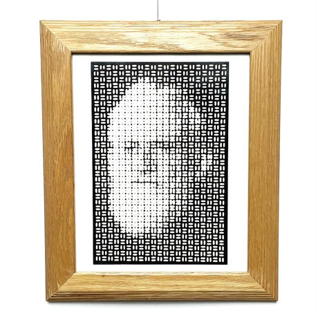 Optical face print 70's