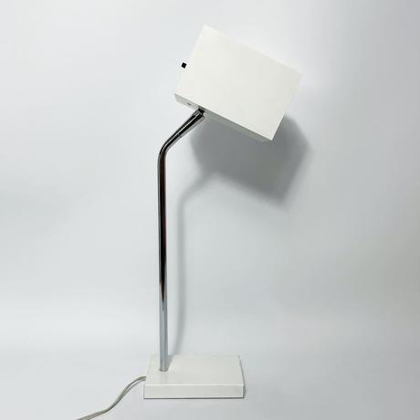 Metal square table lamp 1960's