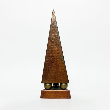 Copper & brass ball  triangular pyramid