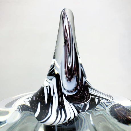 Abstract glass  sculpture 2004's