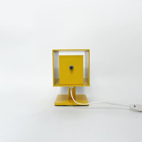 Metal square lamp 1960's