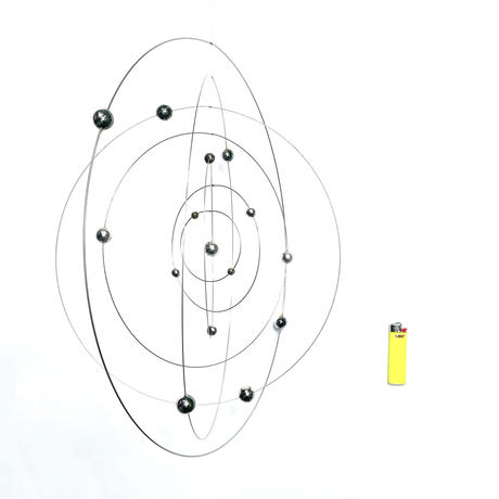 Metal circle mobile 70's