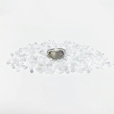 〈miku  fukamitsu 〉表膜のリング  (silver925/K10)