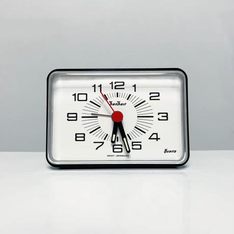 Hanhart desk alarm clock 70's