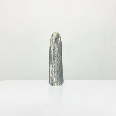 Carved natural stone vase