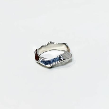〈miku fukamitsu〉つたえるリング(silver925/K10)