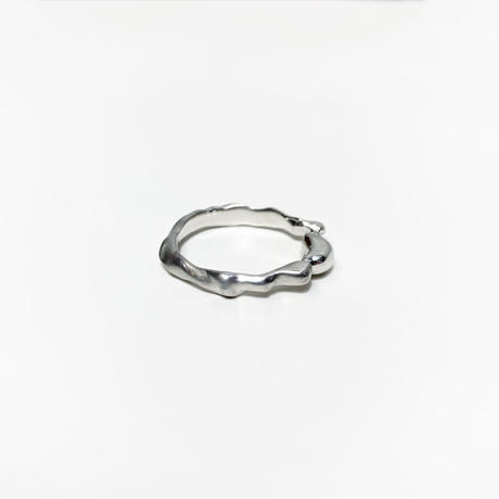 〈miku fukamitsu〉 泡沫のリング (silver925)