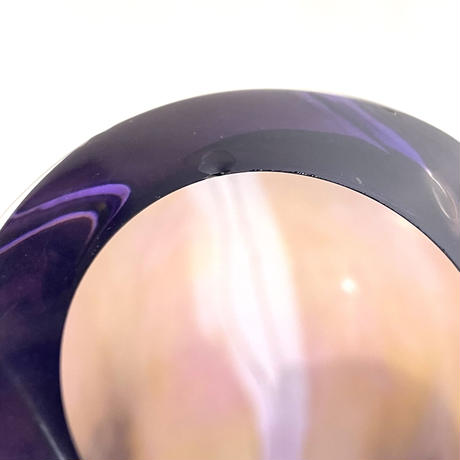 Gradation glass vase