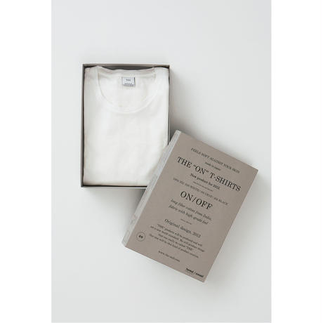 「シルクのように滑らかな」コットンTシャツ THE ON T-SHIRTS