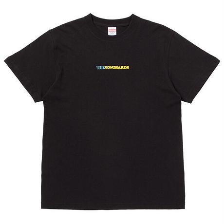 刺繍Tシャツ ブラック