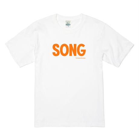 """""""SONG""""Tシャツ[ホワイト]"""