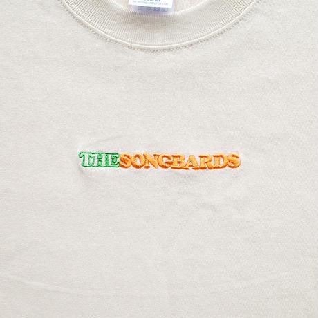 刺繍Tシャツ [サンド]