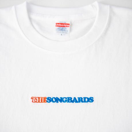 刺繍Tシャツ ホワイト